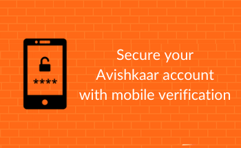 Secure your Avishkaar account